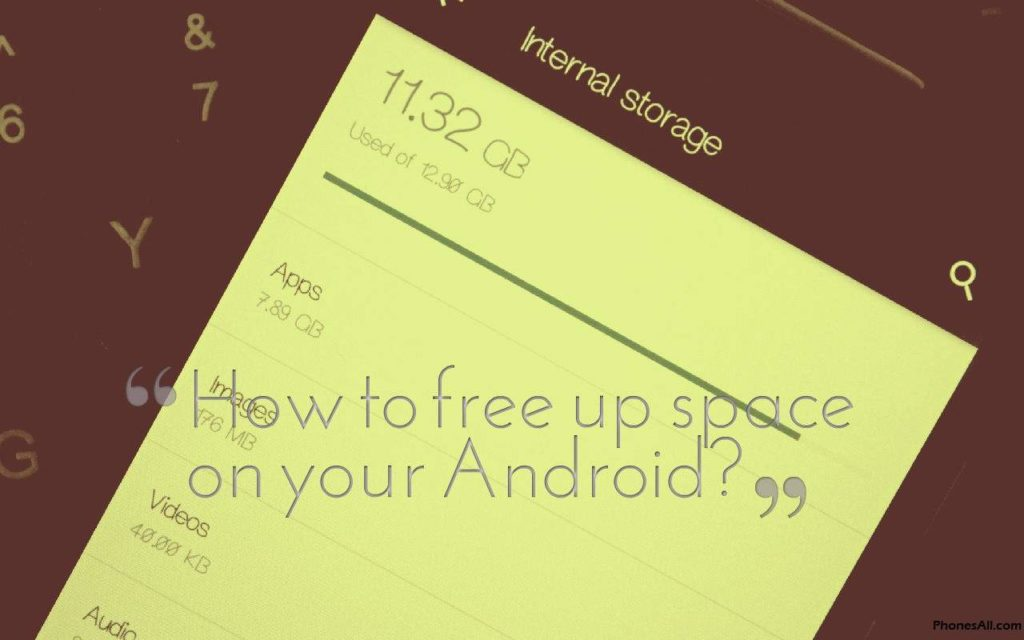 free up space