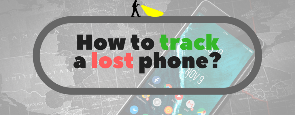 How to track a lost phone