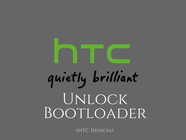 unlock bootloader on HTC