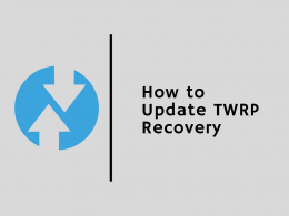 how to update twrp recovery