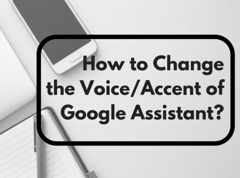 change google assistant voice