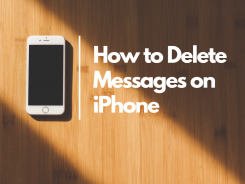 how to delete messages on iphone