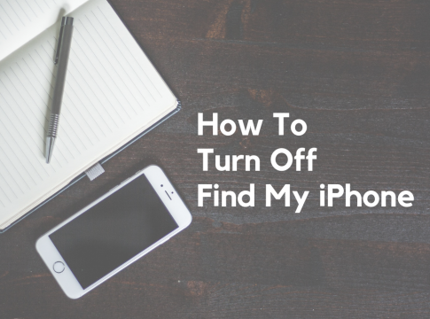 how to turn off find my iphone