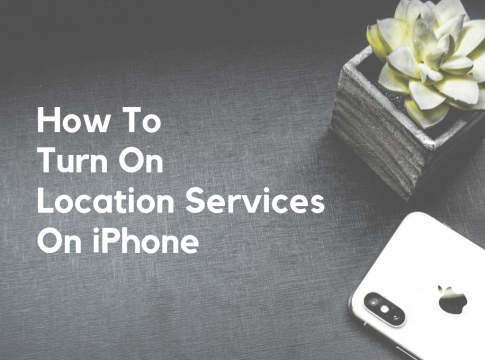 How To Turn On Location Services on iPhone